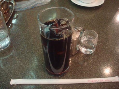 喫茶ノーベル@中野-アイスコーヒー