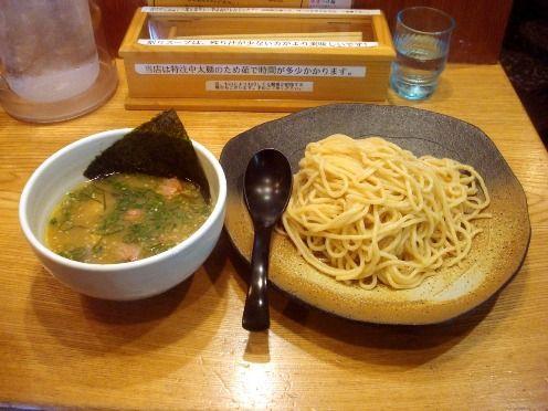 草庵@新井薬師前-サクラ塩つけ麺