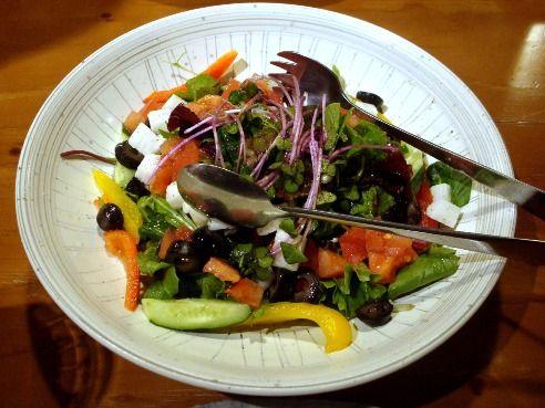 てけてけ@中野-15種野菜の彩サラダ