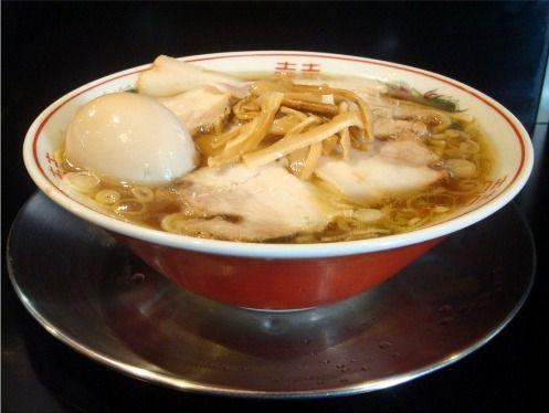 さいころ@中野-肉煮干し中華そば+味玉