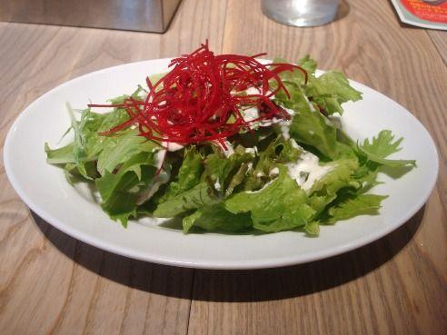グッドモーニングカフェ@中野セントラルパーク-サラダ