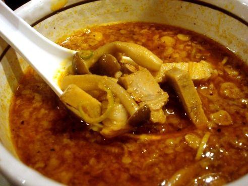 さいころ@中野-ラタトゥイユカレーつけ麺