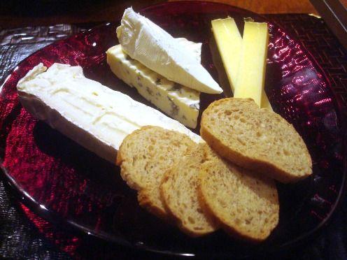 ラ・ブランシェ(La Branche)@中野-ナチュラルチーズ3種盛り合わせ