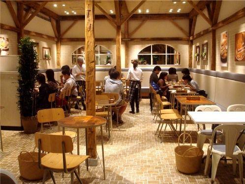 j.s.pancake cafe@中野-店内・パンケーキ