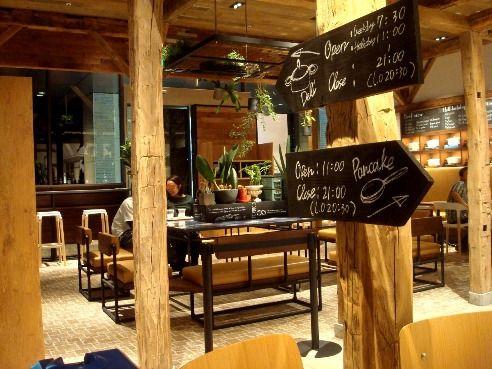 j.s.pancake cafe@中野-店内・デリ