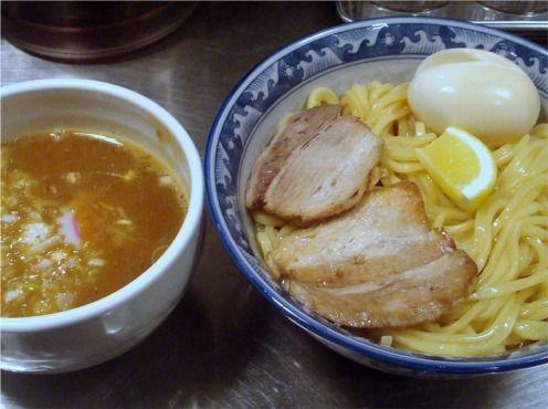 池麺KINGKONG@池袋-トロフルつけめん+半熟玉子