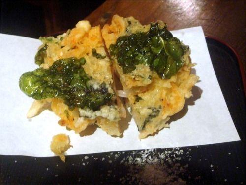 浅見製麺所@中野-生桜海老かき揚げ