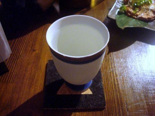 浅見製麺所@中野-菊水の辛口
