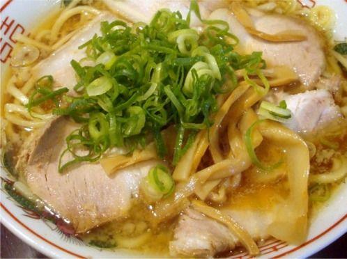 さいころ@中野-背脂煮干チャーシュー麺