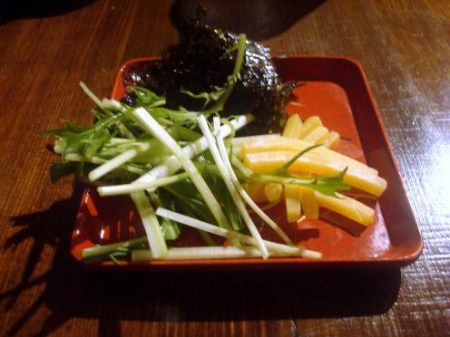 浅見製麺所@中野-チーズの味噌漬け