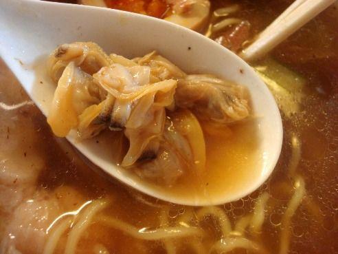 むろや@新宿御苑前-アサリの冷やし麺