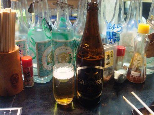 石松@中野-瓶ビール