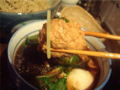 浅見製麺所@中野-温玉肉団子そば