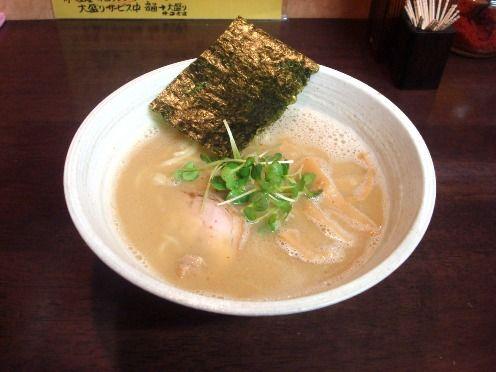 藤丸@中野-らーめん(煮干し醤油味)