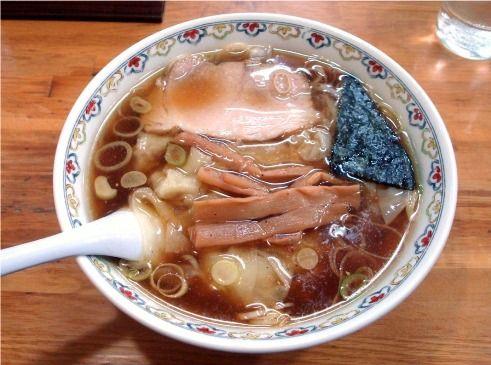 春木屋@荻窪-わんたん麺