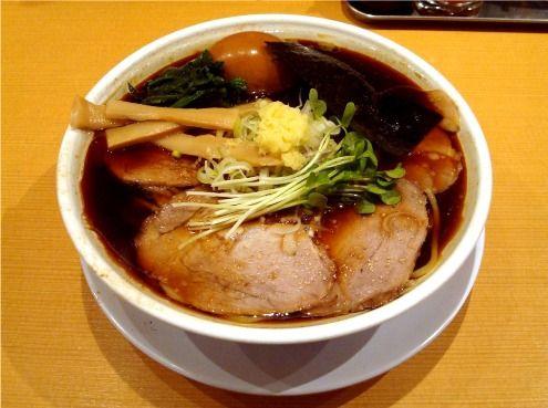 半熟味玉らぁ麺(醤油)-我武者羅@幡ヶ谷