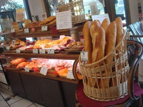 ロイスダール@新井薬師前-パンのコーナー
