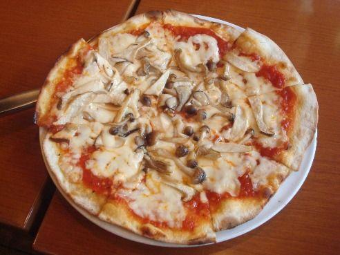 コパン@新井薬師前-いろいろキノコのピッツァ