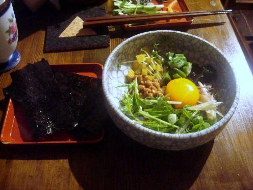 浅見製麺所@中野-ネバネバばくだん