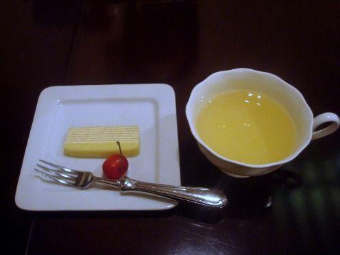エルブ@中野新橋-一口デザートとハーブティ