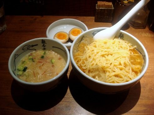 麺屋武蔵@新宿-宮崎風冷汁つけ麺