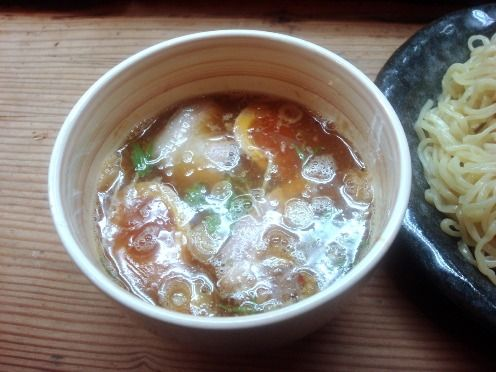 菜華@中野-つけ麺+味玉