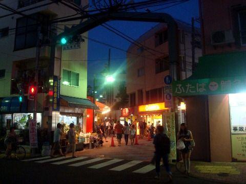 川島夜店市-川島商店街入口