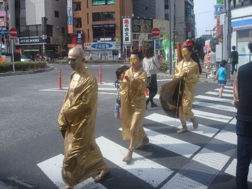 高円寺びっくり大道芸-大道芸人