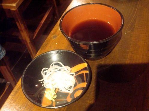 浅見製麺所@中野-蕎麦つゆ