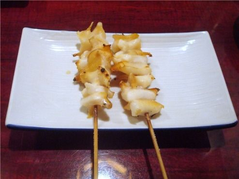 つぶ貝の串焼き-駒八@中野