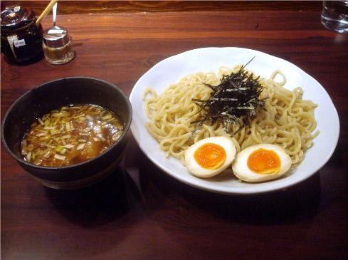 づけ麺 秀@中野-づけ麺+煮玉子