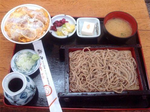 丸福@中野新橋-かつ丼定食