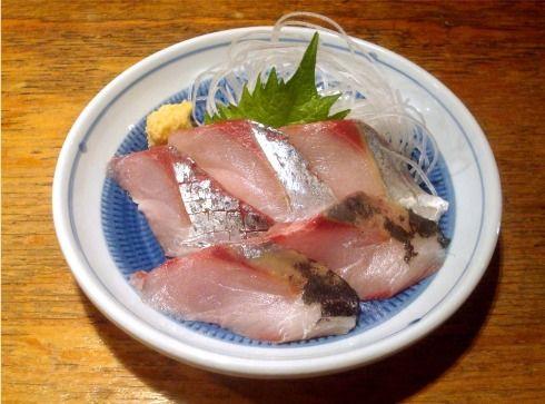 魚屋よ蔵@中野-鰤の刺身