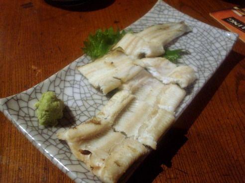 浅見製麺所@中野-穴子白焼