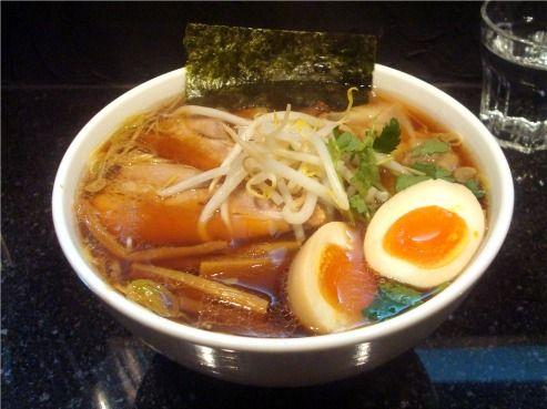 チャーシューワンタンメン+味付け玉子