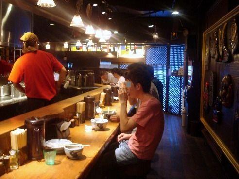 麺屋武蔵@新宿-店内
