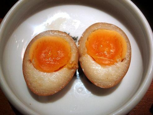 麺屋武蔵@新宿-味付玉子
