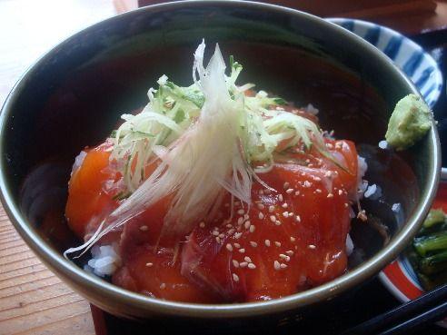 上高地食堂@上高地-信州サーモン丼