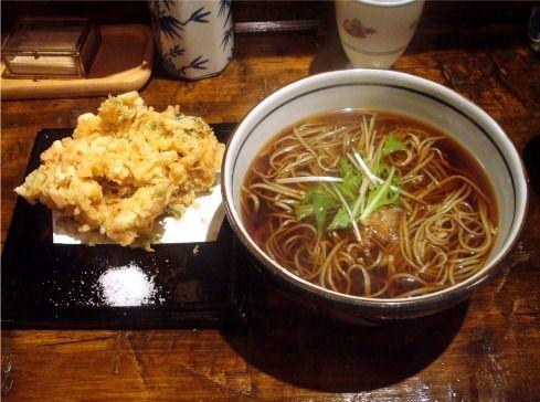 浅見製麺所-特製かきあげ蕎麦