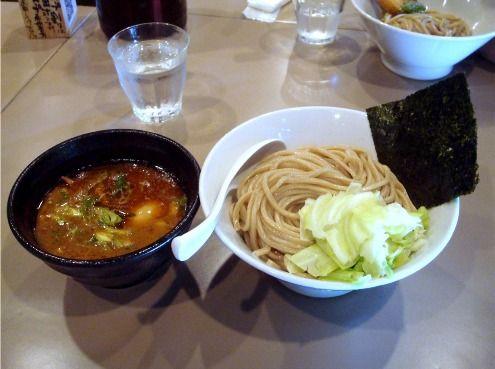 五ノ神製作所@新宿-海老つけ麺