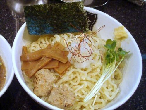 進化@新中野-秋刀魚の霙つけめん