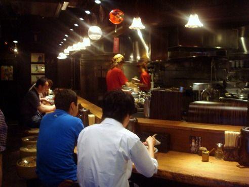 麺屋武蔵 新宿本店@新宿-店内