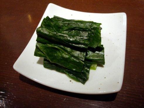 旅の途中@新高円寺-季節のつけ菜