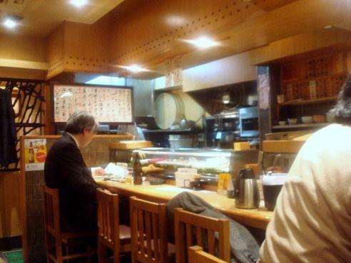 魚がし鮨 中野南口店-店内