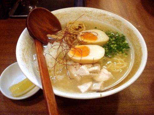 ようすけ@中野-冷たい濃厚鶏白湯