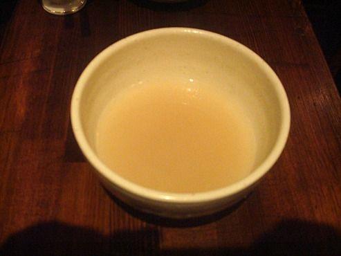浅見製麺所@中野-蕎麦湯