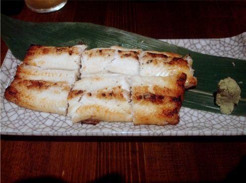 浅見製麺所@中野-穴子白焼き