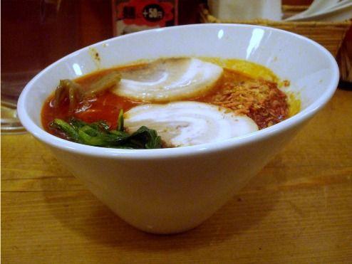 ほおずき@中野-太肉担々麺