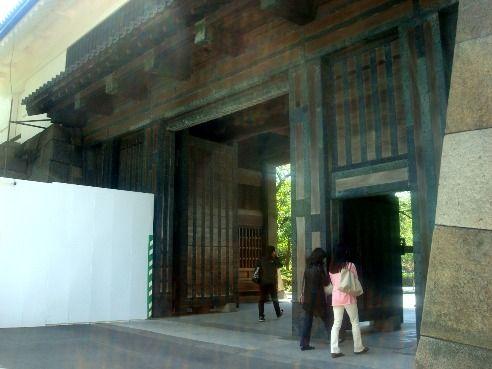 北の丸公園-旧江戸城田安門