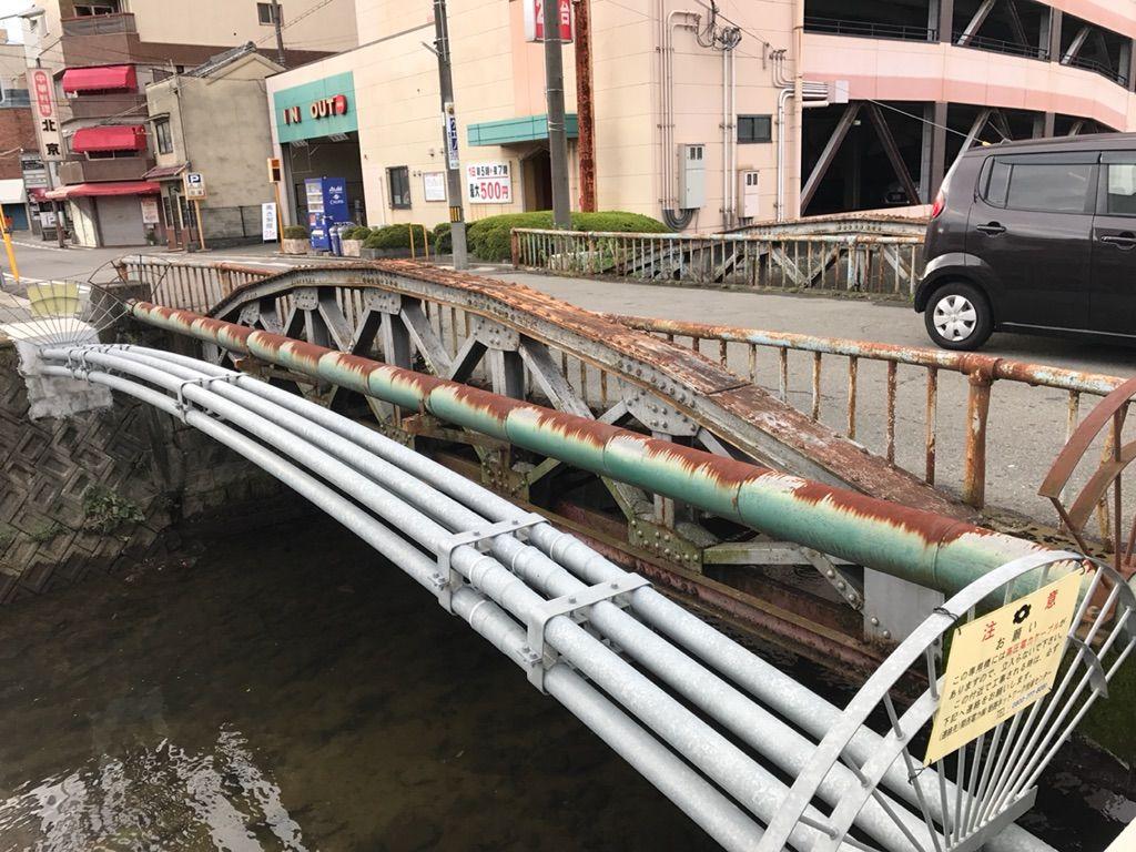 NOWな姫路2017年09月白鷺橋と船場川周辺